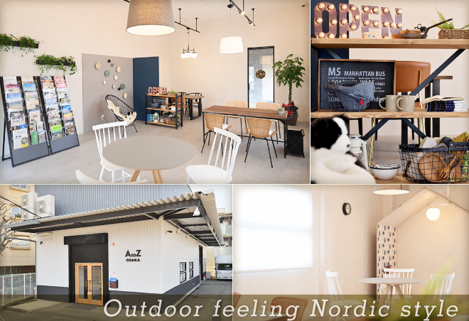 Outdoor feeling Nordic style